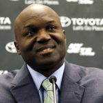 New York Jets new head coach Todd Bowles speaks during an NFL football new conference introducing the team's new management, Wednesday, Jan. 21, 2015, in Florham Park, N.J. (AP Photo/Julio Cortez)